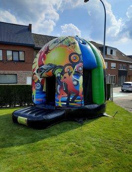 Springkasteel Huren   Disco Dome