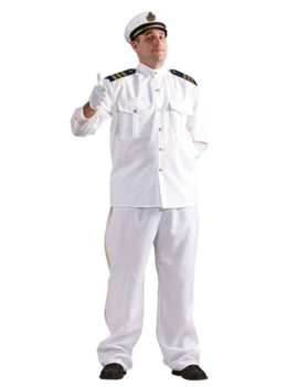 Kapitein Kostuum | Herenkostuum