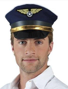 Piloot Pet | Pilotenpet | One Size