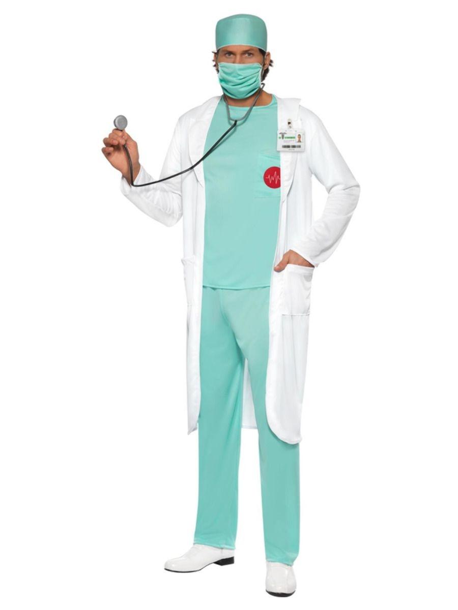 Dokter / Verpleger Kostuum   Herenkostuum