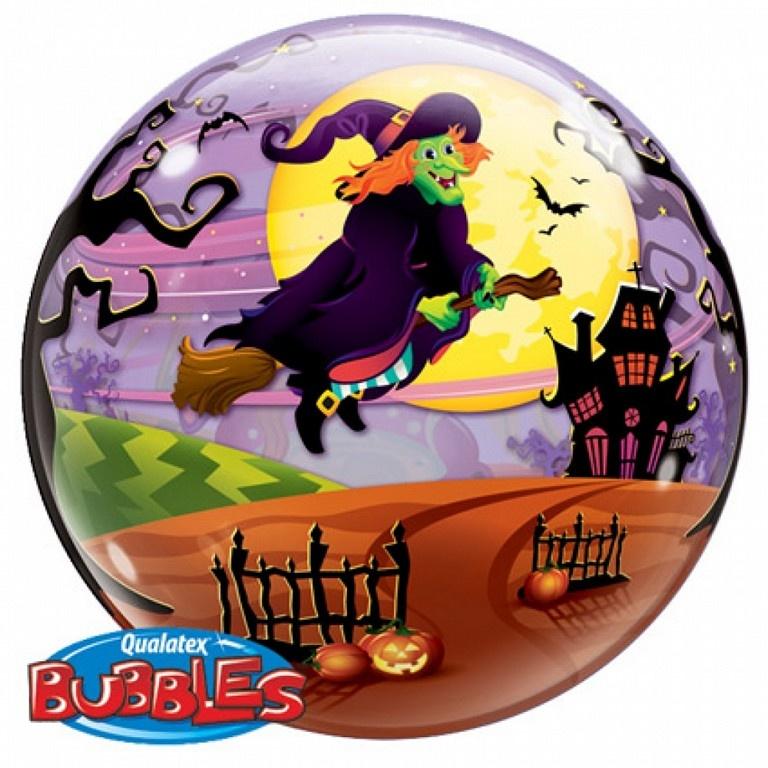 Bubble Heks Halloween | Ballon - 56cm