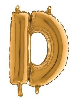 Folieballon Mini  l 36cm  Letter D