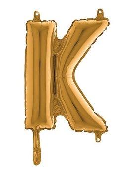 Folieballon Mini  l 36cm  Letter K