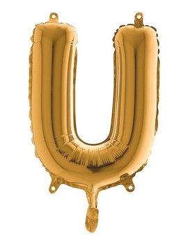 Folieballon Mini  l 36cm  Letter U