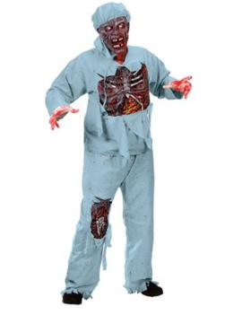 Zombie Chirurg Kostuum |One Size