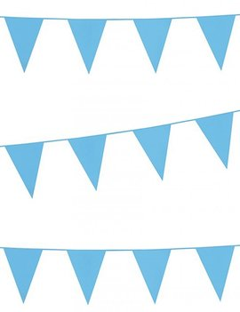 Vlaggenlijn Standaard |Lichtblauw | 10meter