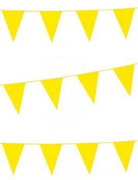 Vlaggenlijn Standaard | Geel | 10meter