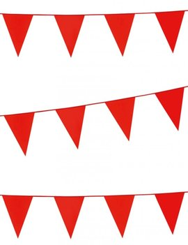 Vlaggenlijn Standaard | Rood | 10meter