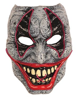 Horror Masker LED| Met led licht
