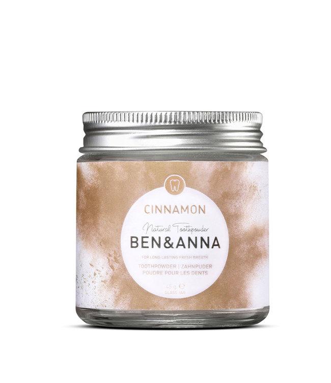 Ben & Anna Zahnpuder Cinnamon – 45g