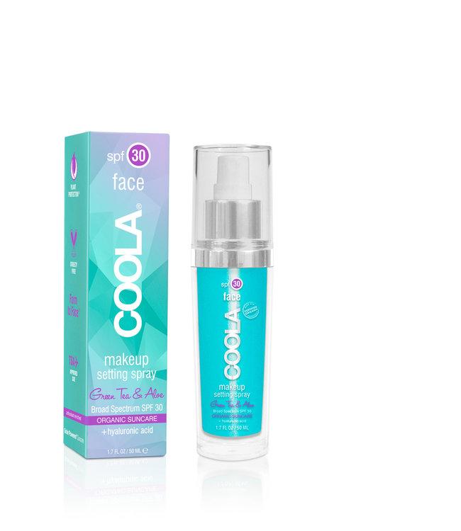 Coola Make-up Setting Spray SPF30 – Green Tea & Aloe