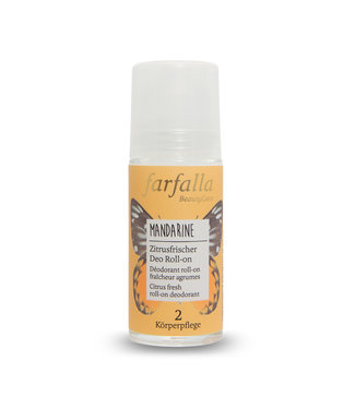 Farfalla Mandarine Zitrusfrischer Deo Roll-on