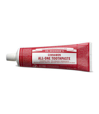 Dr. Bronner's All-One Zahnpasta – Zimt