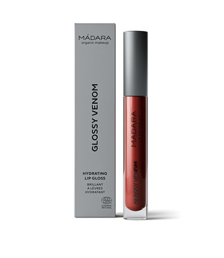 Madara Glossy Venom – Vegan Red