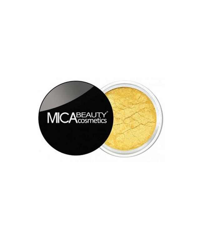Mica Beauty Reiner Mineralpigment Lidschatten Goldrush