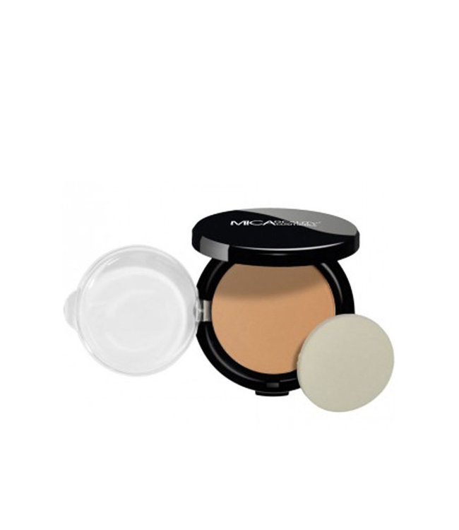 Mica Beauty Foundation Pressed Powder Toffee