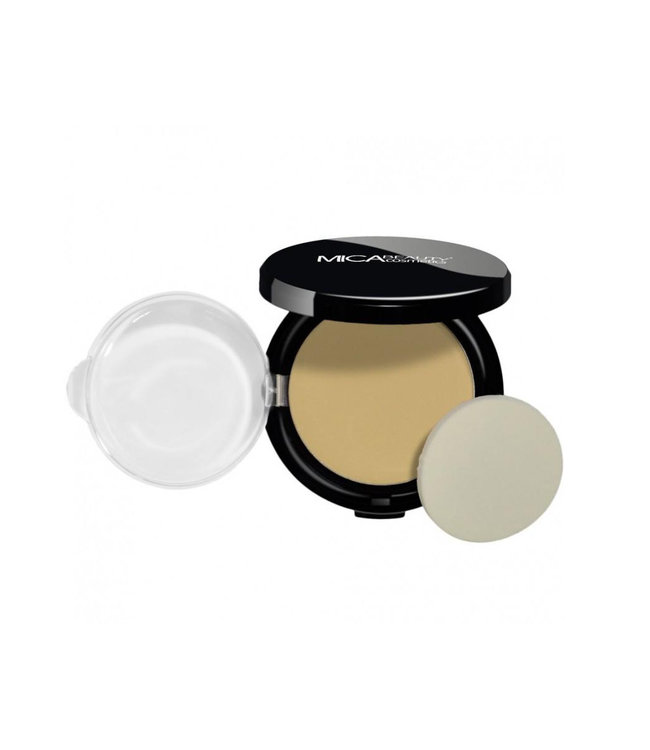 Mica Beauty Foundation Pressed Powder Honey