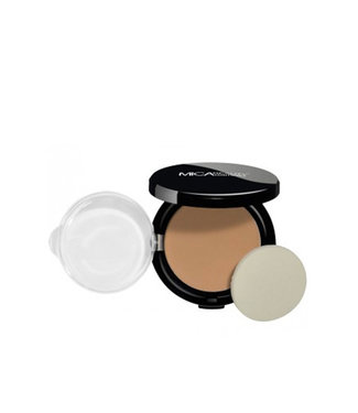 Mica Beauty Foundation Pressed Powder Cream Caramel