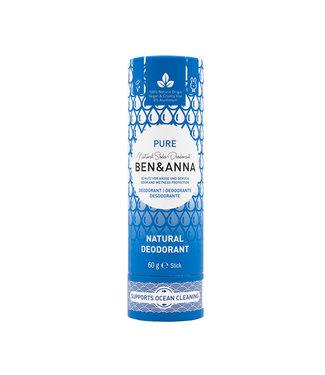 Ben & Anna Pure Deodorant Stick Papertube