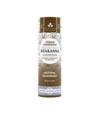 Ben & Anna Indian Mandarine Deodorant Stick Papertube