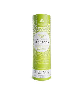 Ben & Anna Persian Lime Deodorant Stick Papertube