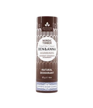 Ben & Anna Nordic Timber Deodorant Stick Papertube
