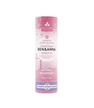 Ben & Anna Sensitiv -Cherry Blossom Deodorant Stick Papertube