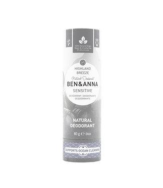 Ben & Anna Sensitiv - Highland Breeze Deodorant Stick Papertube