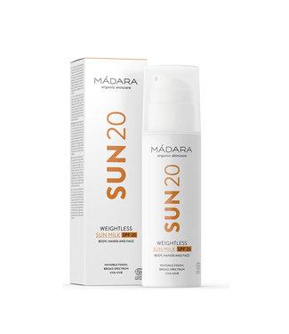 Madara Sun20 ultra leichte Sonnenmilch LSF 20