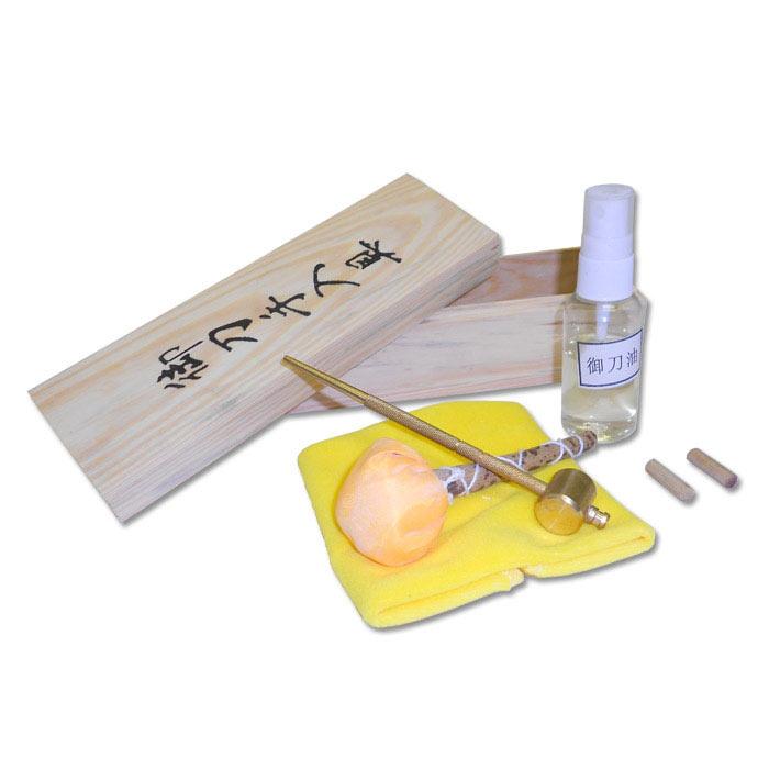 Samurai zwaarden onderhoudset