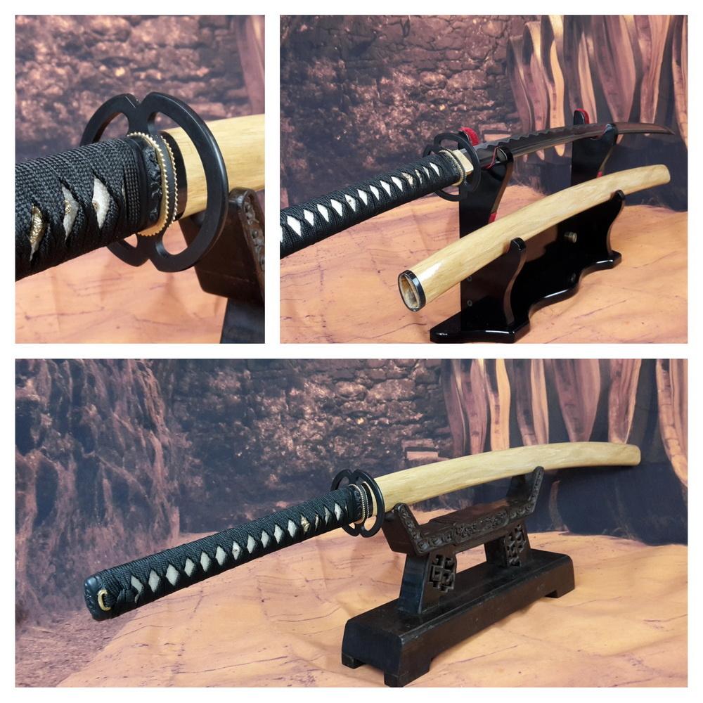 Samurai zwaard met houten saya
