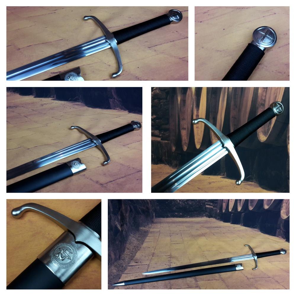 Middeleeuws scherp zwaard