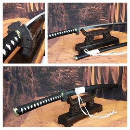 Samurai zwaard met witte koord