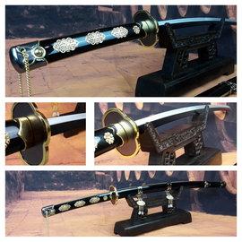 Zwart parel samurai zwaard