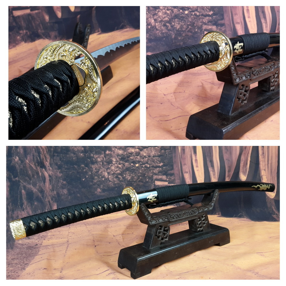 Samurai zwaard gold