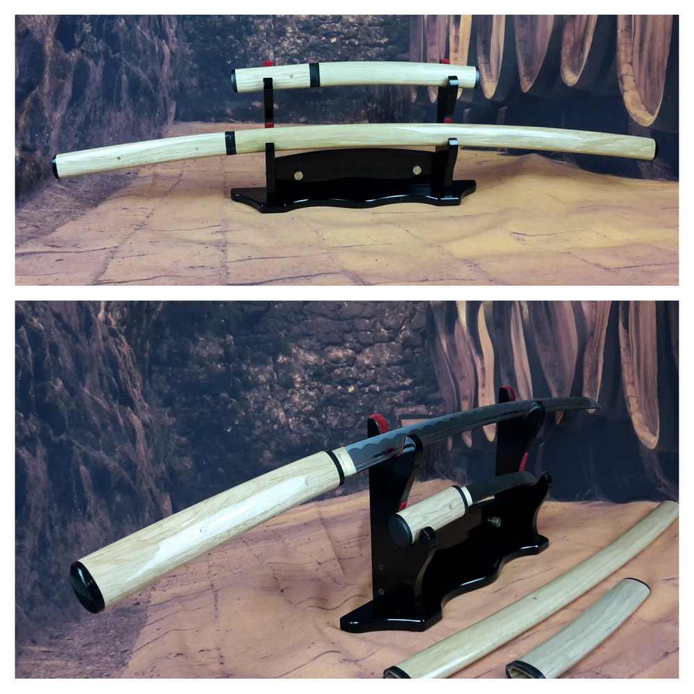 Shirasaya samurai zwaarden set
