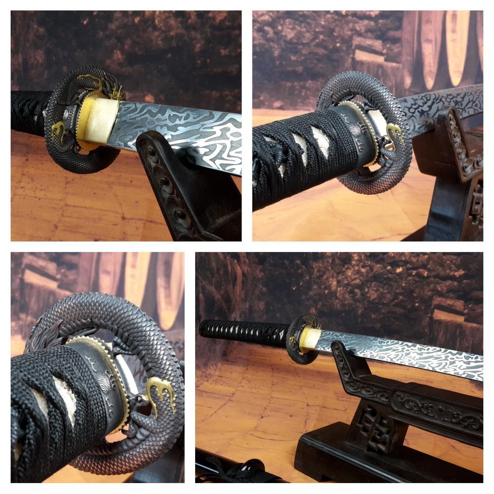 Samurai zwaard met bijzondere kling