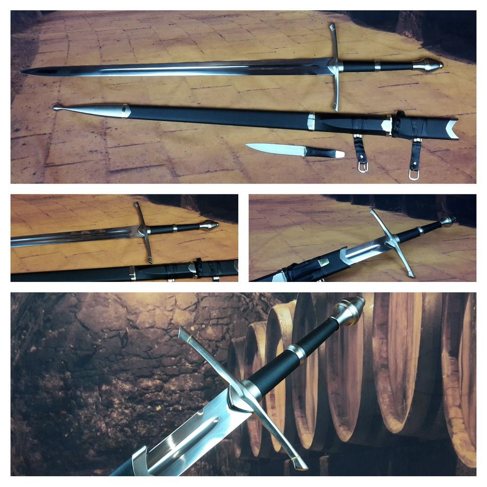 Lord of the Rings het zwaard van Aragorn met dolk