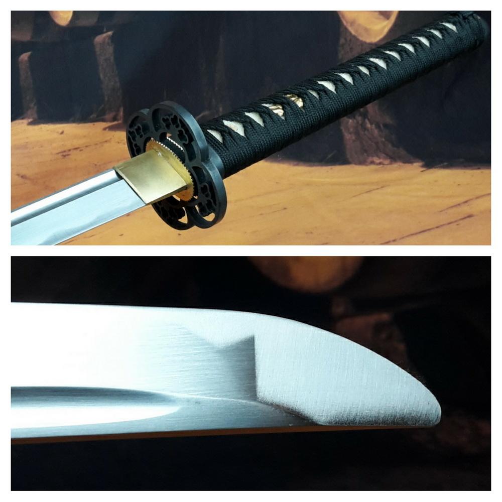Bot Iaido trainings samurai zwaard B Zwart