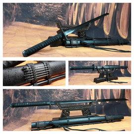 Ninja Katana zwaard zwart