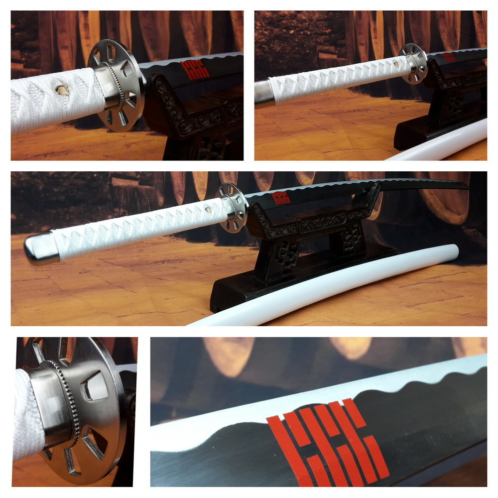 Wit samurai katana zwaard GI JOE