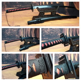 Scherp Bleach samurai zwaard, battle ready uitvoering