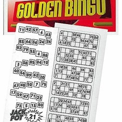 Golden bingo 1200 tickets