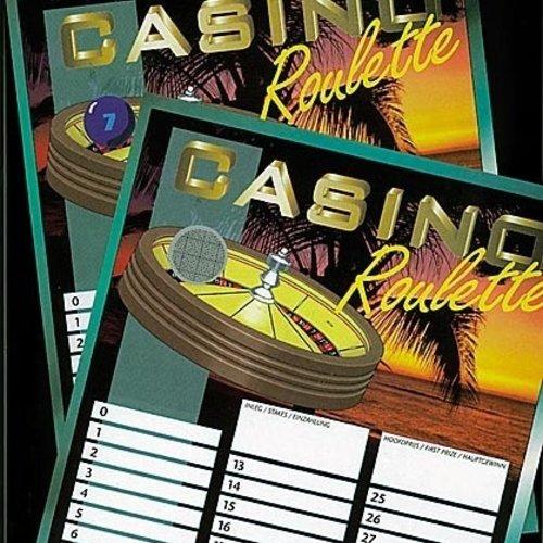 Roulette kaarten 20st.