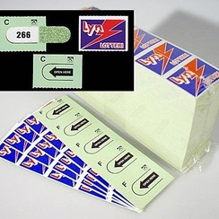 Spel lyn-strips 200 x 5 tickets