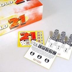 Spel 21 gold 1000 kaartjes