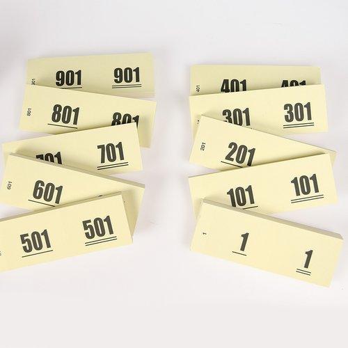 HollandBingo Nummerblok 1-1000