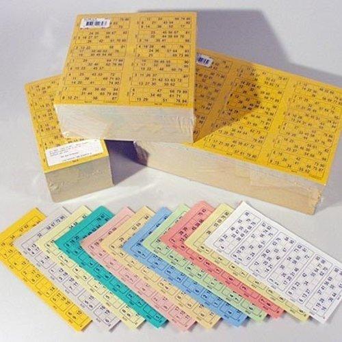 HollandBingo Bingokaarten boekjes 1-90 11 dik