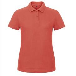Polo shirt dames incl. tekst