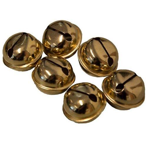 Narrenbellen goud 17mm